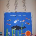 Under the sea display.