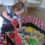 Baby in the Sawdust