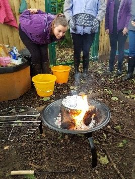 Staff Forest School Training Session – 29th August 2020